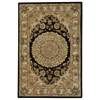 "Nourison Nourison 2000 Rectangle Rug  By Nourison, Black, 3'9"" X 5'9"""