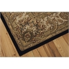 "2000 Rectangle Rug By, Black, 7'9"" X 9'9"""