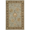 "Nourison Nourison 2000 Rectangle Rug  By Nourison, Blue, 5'6"" X 8'6"""