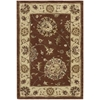 Nourison Nourison 2000 Rectangle Rug  By Nourison, Rust, 2' X 3'