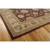 "2000 Rectangle Rug By, Rust, 7'9"" X 9'9"""