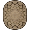 "Nourison Nourison 2000 Rectangle Rug  By Nourison, Brown, 7'9"" X 9'9"""