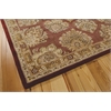 "Nourison Nourison 2000 Rectangle Rug  By Nourison, Rose, 7'9"" X 9'9"""