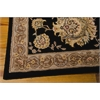 "Nourison Nourison 2000 Rectangle Rug  By Nourison, Black, 7'9"" X 9'9"""