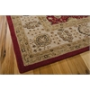 "Nourison Nourison 3000 Rectangle Rug  By Nourison, Red, 7'9"" X 9'9"""