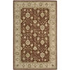 "3000 Rectangle Rug By, Rust, 5'6"" X 8'6"""