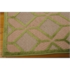 "Aloha Rectangle Rug By, Green, 5'3"" X 7'5"""