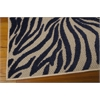 "Aloha Rectangle Rug By, Navy, 5'3"" X 7'5"""