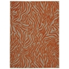 Aloha Orange Indoor/Outdoor Area Rug