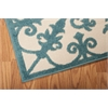 "Nourison Aloha Rectangle Rug  By Nourison, Aqua, 5'3"" X 7'5"""