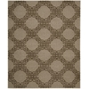 "Nourison Ambrose Rectangle Rug  By Nourison, Almond, 7'9"" X 9'9"""