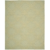 "Ambrose Rectangle Rug By, Light Green, 7'9"" X 9'9"""