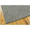 "Nourison Ambrose Rectangle Rug  By Nourison, Slate, 5'6"" X 7'5"""