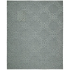 "Nourison Ambrose Rectangle Rug  By Nourison, Slate, 7'9"" X 9'9"""