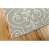"Nourison Ambrose Rectangle Rug  By Nourison, Blue, 5'6"" X 7'5"""