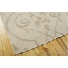 "Nourison Ambrose Rectangle Rug  By Nourison, Sand, 5'6"" X 7'5"""