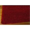 "Amore Rectangle Rug By, Red, 5'3"" X 7'5"""