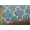 "Nourison Amore Rectangle Rug  By Nourison, Aqua, 5'3"" X 7'5"""