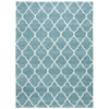 "Nourison Amore Rectangle Rug  By Nourison, Aqua, 7'10"" X 10'10"""