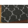 "Amore Rectangle Rug By, Charcoal, 5'3"" X 7'5"""