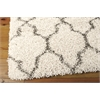 "Nourison Amore Rectangle Rug  By Nourison, Cream, 5'3"" X 7'5"""