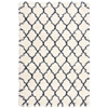 "Nourison Amore Rectangle Rug  By Nourison, Ivory Blue, 3'11"" X 5'11"""