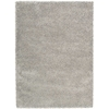 Amore Light Grey Shag Area Rug