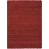 Amore Red Shag Area Rug