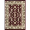 "Nourison Ki11 Antiquities Rectangle Rug  By Nourison, Garnet, 5'3"" X 7'4"""
