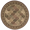 "Nourison Ki11 Antiquities Round Rug  By Nourison, Multicolor, 5'3"" X 5'3"""