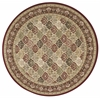 "Ki11 Antiquities Round Rug By, Multicolor, 7'10"" X 7'10"""