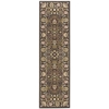 "Nourison Ki11 Antiquities Runner Rug  By Nourison, Espresso, 2'2"" X 7'6"""