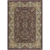 "Ki11 Antiquities Rectangle Rug By, Burgundy, 5'3"" X 7'4"""