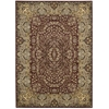 "Nourison Ki11 Antiquities Rectangle Rug  By Nourison, Burgundy, 7'10"" X 10'10"""