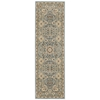 "Nourison Ki11 Antiquities Runner Rug  By Nourison, Slate Blue, 2'2"" X 7'6"""