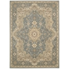 "Ki11 Antiquities Rectangle Rug By, Slate Blue, 7'10"" X 10'10"""
