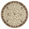 "Nourison Ki11 Antiquities Round Rug  By Nourison, Ivory, 7'10"" X 7'10"""