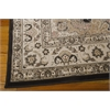 "Nourison Ararat Rectangle Rug  By Nourison, Charcoal, 5'3"" X 7'4"""