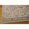 "Nourison Ararat Rectangle Rug  By Nourison, Light Blue, 5'3"" X 7'4"""