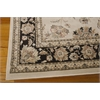 "Nourison Ararat Rectangle Rug  By Nourison, Ivory Grey, 5'3"" X 7'4"""
