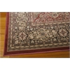 "Nourison Ararat Rectangle Rug  By Nourison, Rust, 5'3"" X 7'4"""