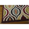 "Nourison Aristo Rectangle Rug  By Nourison, Multicolor, 5'3"" X 7'5"""