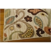 "Nourison Aristo Rectangle Rug  By Nourison, Ivory, 5'3"" X 7'5"""