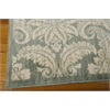 "Nourison Aristo Rectangle Rug  By Nourison, Blue Ivory, 5'3"" X 7'5"""