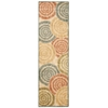 "Nourison Aristo Runner Rug  By Nourison, Light Multicolor, 2'2"" X 7'6"""