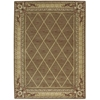 "Ashton House Rectangle Rug By, Cocoa, 5'6"" X 7'5"""