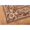 "Nourison Ashton House Rectangle Rug  By Nourison, Cocoa, 7'9"" X 10'10"""