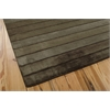 "Aura Rectangle Rug By, Chocolate, 5'6"" X 7'5"""