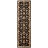"Nourison Ki12 Ancient Times Runner Rug  By Nourison, Black, 2'2"" X 7'6"""