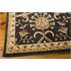 "Nourison Ki12 Ancient Times Rectangle Rug  By Nourison, Black, 7'9"" X 10'10"""
